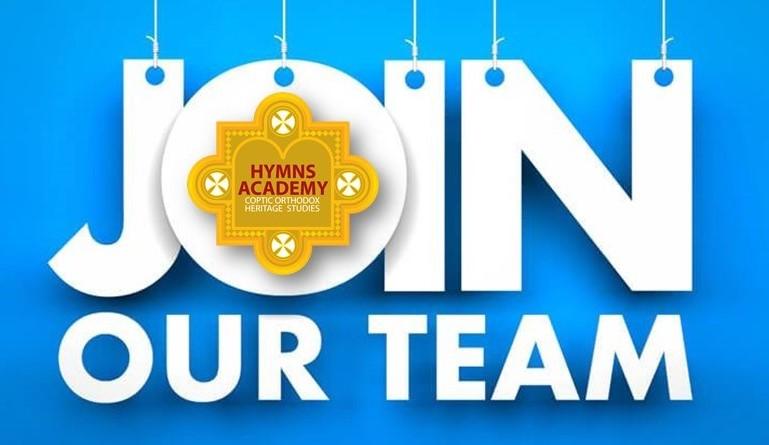 Join hymns academy team