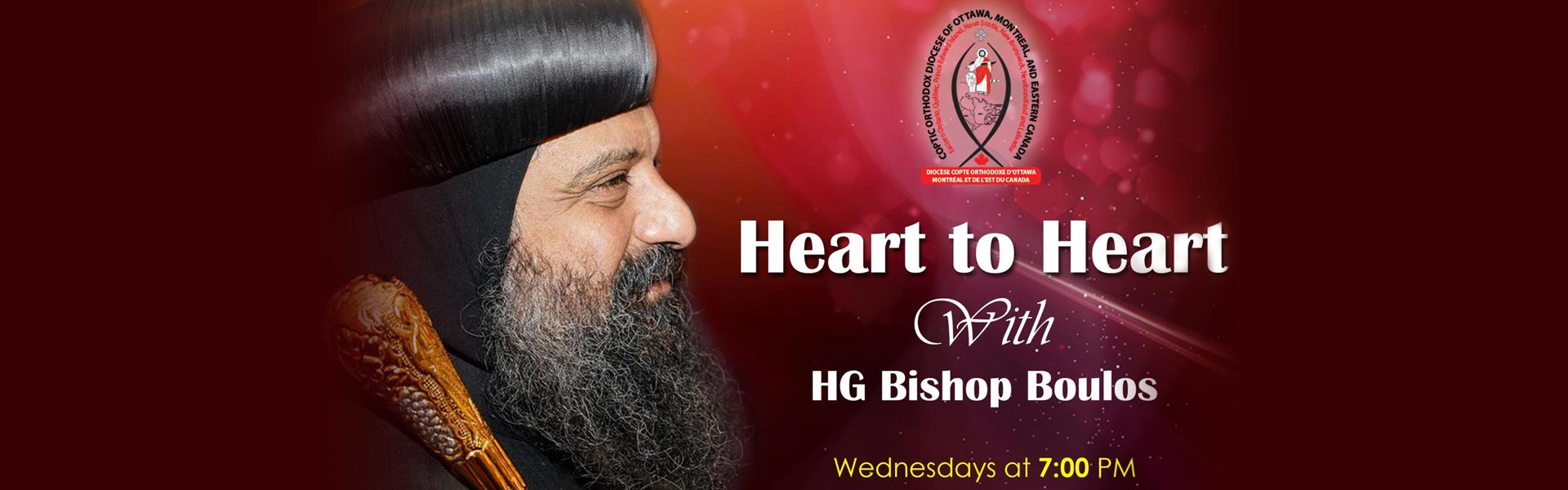 Heart to Heart with HG Bishop Boulos
